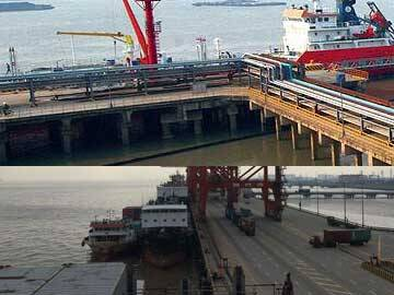 Reinforcement and retrofit of Changshu power plant wharf by CFRP fabric